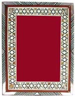 egyptian mother of pearl inlaid picture frame - Mother Of Pearl Frame